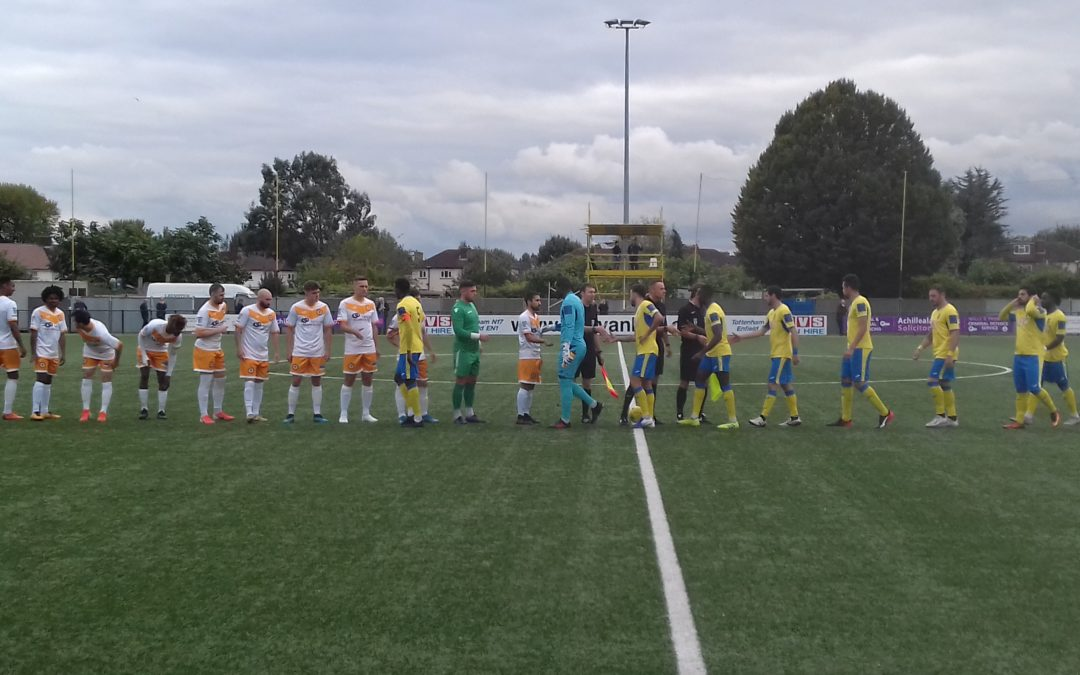 Haringey Borough 1 Cray Wanderers 0 – FA Cup Match Report