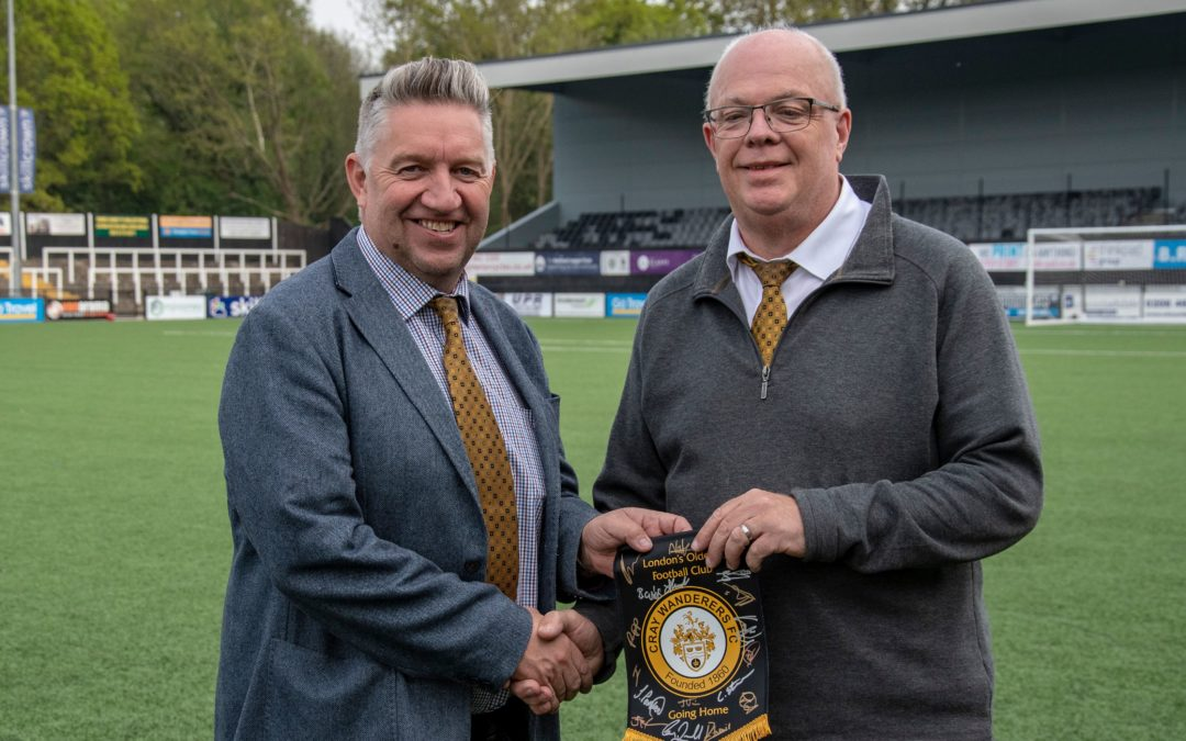 Wishing a Happy Birthday and Anniversary to Martin Hodson from all at Cray Wanderers