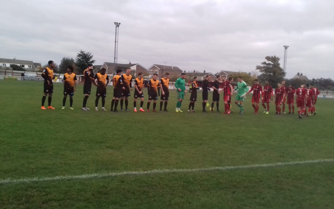 Brightlingsea Regent 0 Cray Wanderers 2 – BetVictor Isthmian Premier – 16/11/19, Match Report