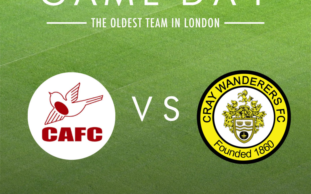 Carshalton Athletic v Cray Wanderers – Saturday 30th November, 3pm – Match Preview and Directions
