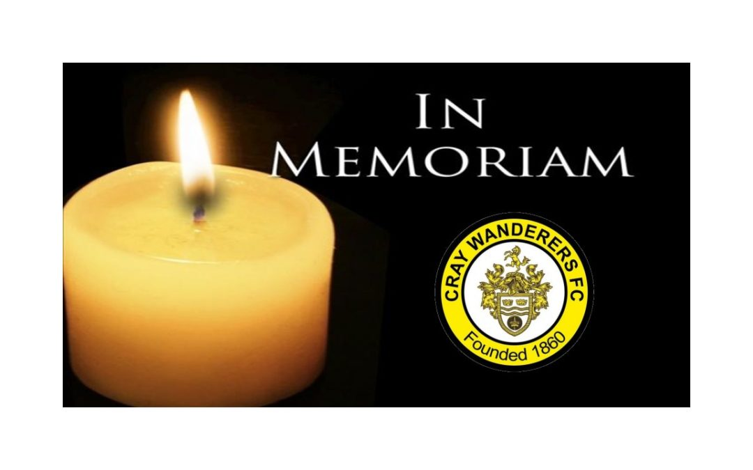 Cray Wanderers FC – In Memoriam: Dave Jackson