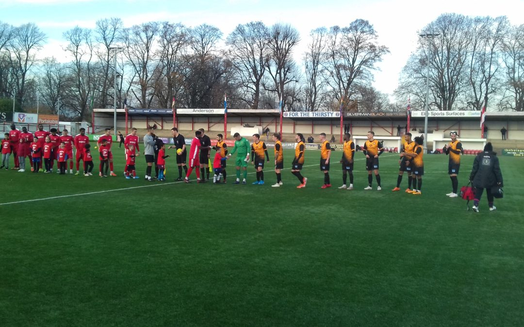 Carshalton Athletic 4 Cray Wanderers 0 – Isthmian Premier – Saturday 30th November, Match Report