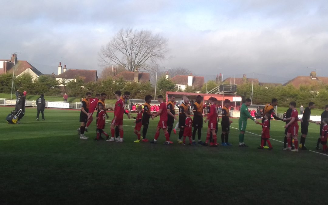 Worthing 3 Cray Wanderers 2 – Velocity League Cup, 1st Knockout Round – 21/12/19