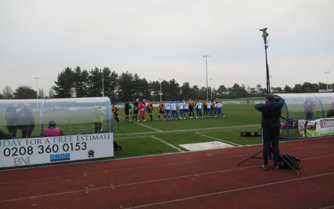 Enfield Town 2 Cray Wanderers 3 – Isthmian Premier – 25/1/20, Match Report
