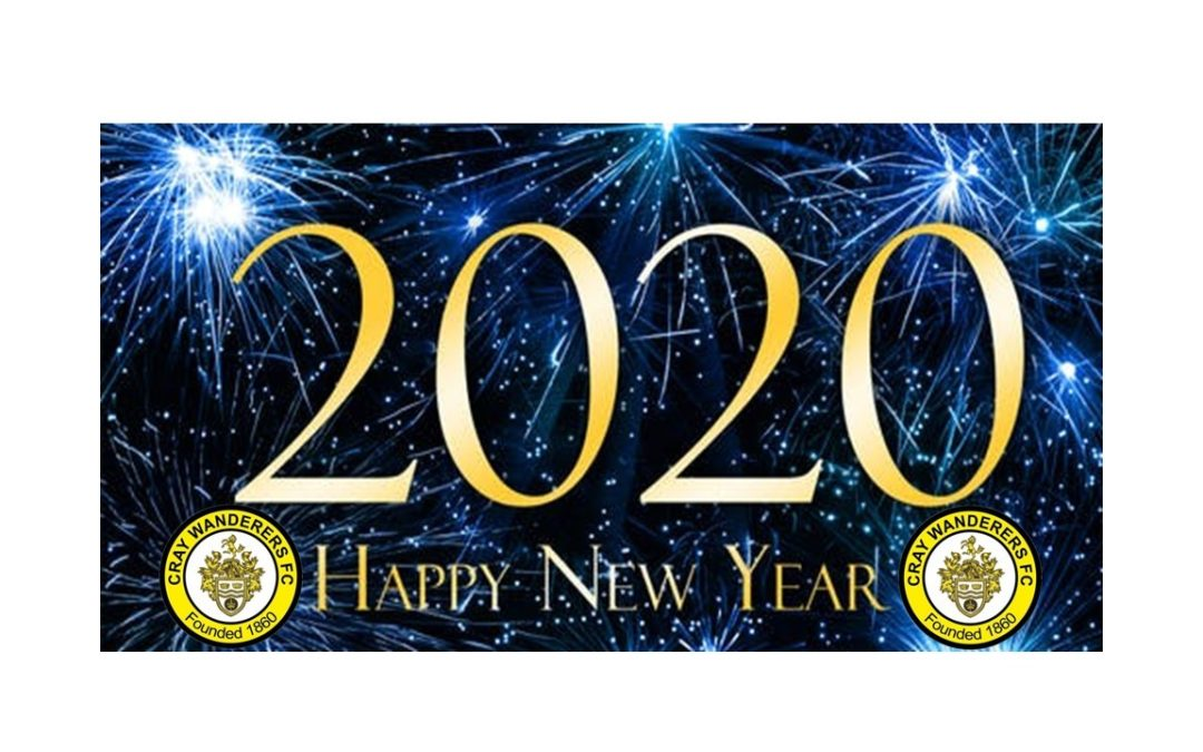 Happy New Year from all at Cray Wanderers – + January Fixtures