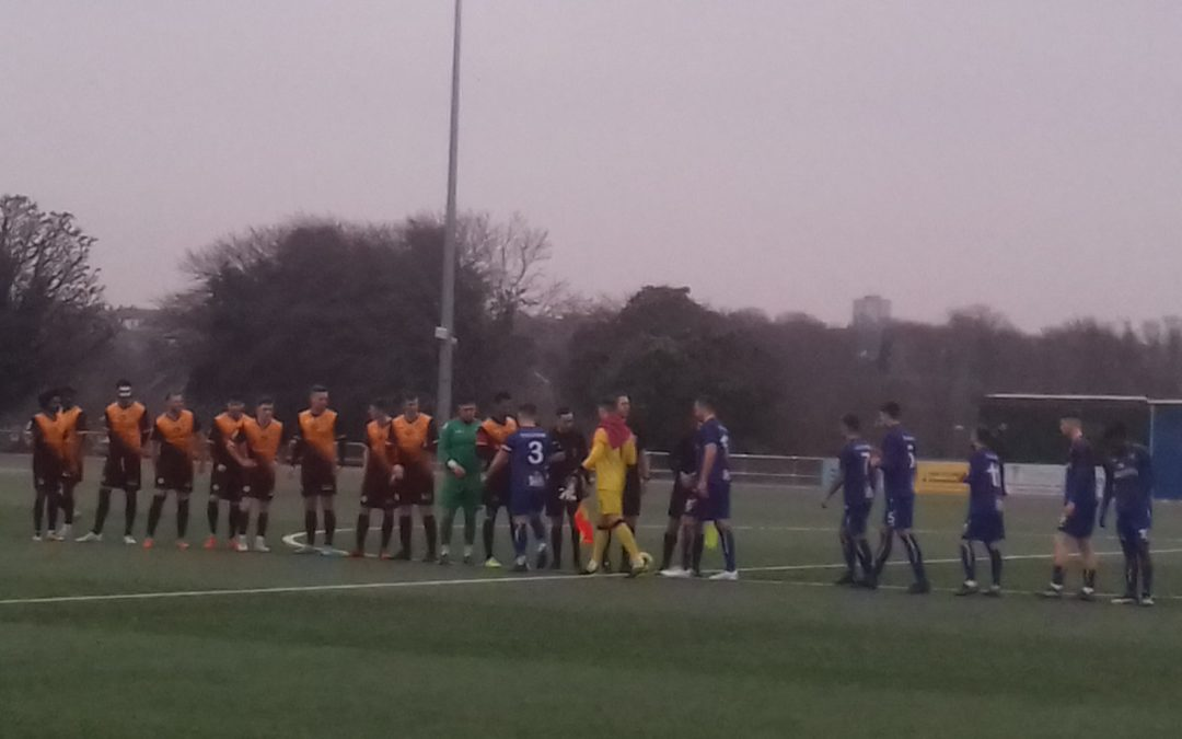 Margate 3 Cray Wanderers 4 – BetVictor Isthmian Premier – Wednesday 1st January 2020 – Match Report