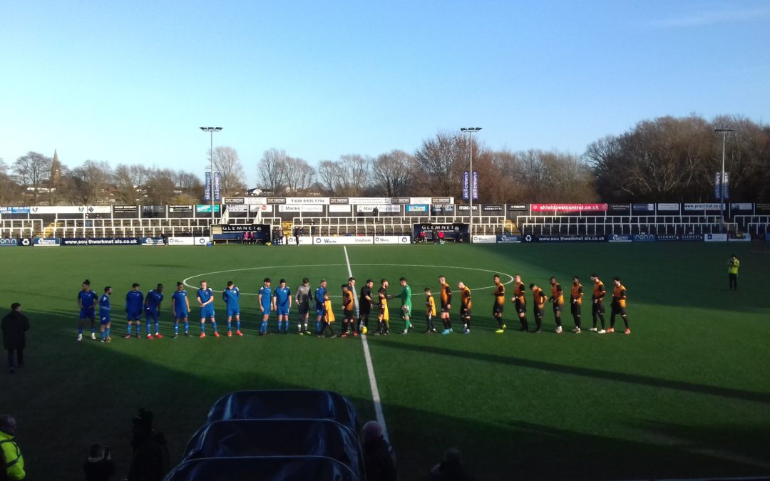 Cray Wanderers 2 Lewes 1 – BetVictor Isthmian Premier, Sat. 18th January, 2020 – Match Report