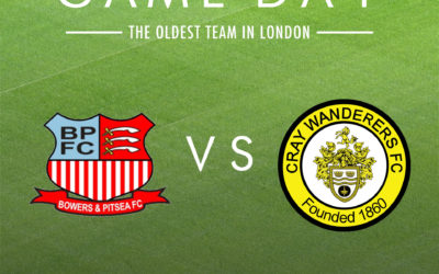 Bowers & Pitsea vs Cray Wanderers – Saturday 11th January, 3pm – Match Preview and Directions
