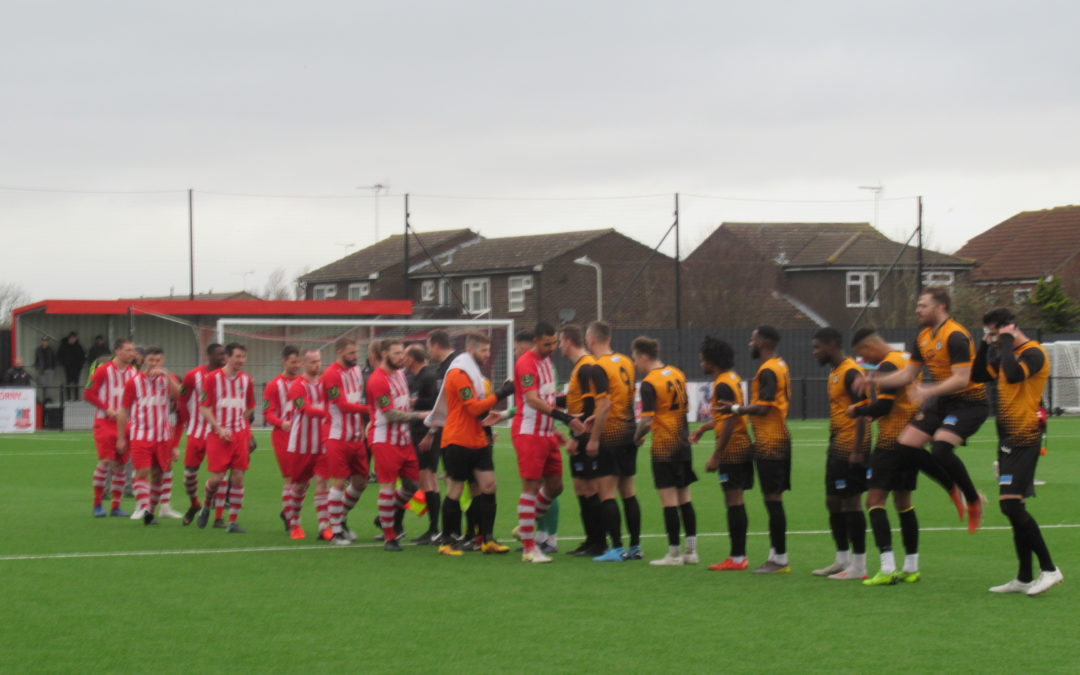 Bowers & Pitsea 1 Cray Wanderers 2 – Isthmian Premier – 11/1/20, Match Report