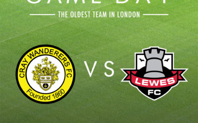 Cray Wanderers vs Lewes – Isthmian Premier – Saturday 18th January, 3pm – Match Preview