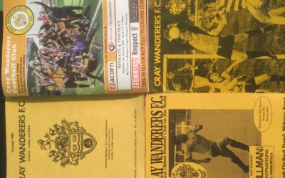 Four Decades of watching Cray Wanderers – By Cray Wanderers supporter and Kent Sports News reporter Colin Head