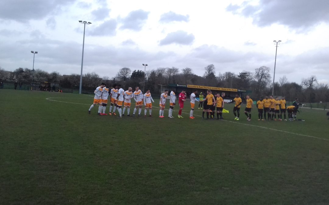 East Thurrock United 0 Cray Wanderers 1 – BetVictor Isthmian Premier – 22/2/20, Match Report