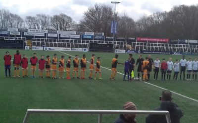 Cray Wanderers Youth Extra – U13s Kent County Cup Semi – Final – Bromley U13s v Cray Wanderers U13s