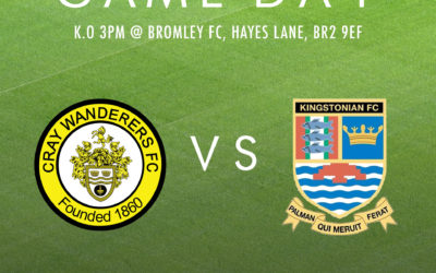 Cray Wanderers vs. Kingstonian – Isthmian Premier – Saturday 15th February, 3pm – Match Preview