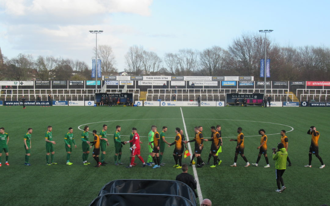 Cray Wanderers 2 Horsham 1 – BetVictor Isthmian Premier – 1/2/20, Match Report