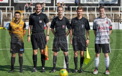 Cray Wanderers 2019-20 – That was the season that wasn't – Pictorial Review – FA Cup 1st QR – Cray Wanderers vs Bedfont Sports