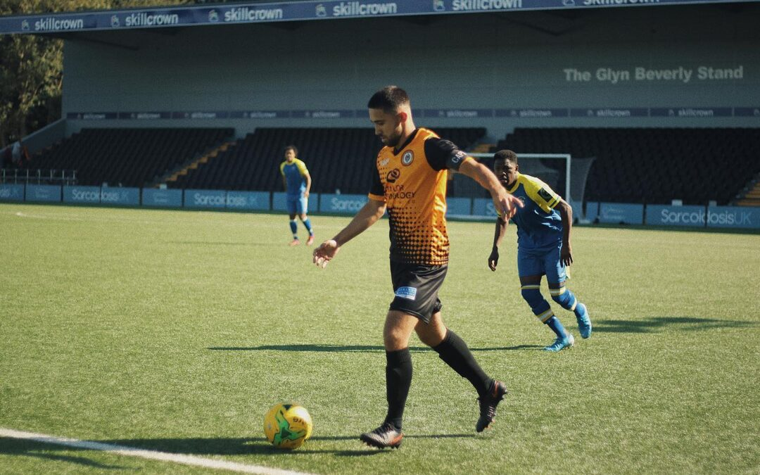 Cray Wanderers 2019-20 – That was the season that wasn't – Pictorial Review – League Match 6 – Cray Wanderers v Haringey Borough