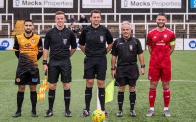 Cray Wanderers 2019-20 – That was the season that wasn't – Pictorial Review – League Match 14 – Cray Wanderers vs. Worthing, 2/11/19