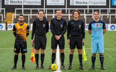 Cray Wanderers 2019-20 – That was the season that wasn't – Pictorial Review – League Match 15 – Cray Wanderers vs. Cheshunt, 9/11/19