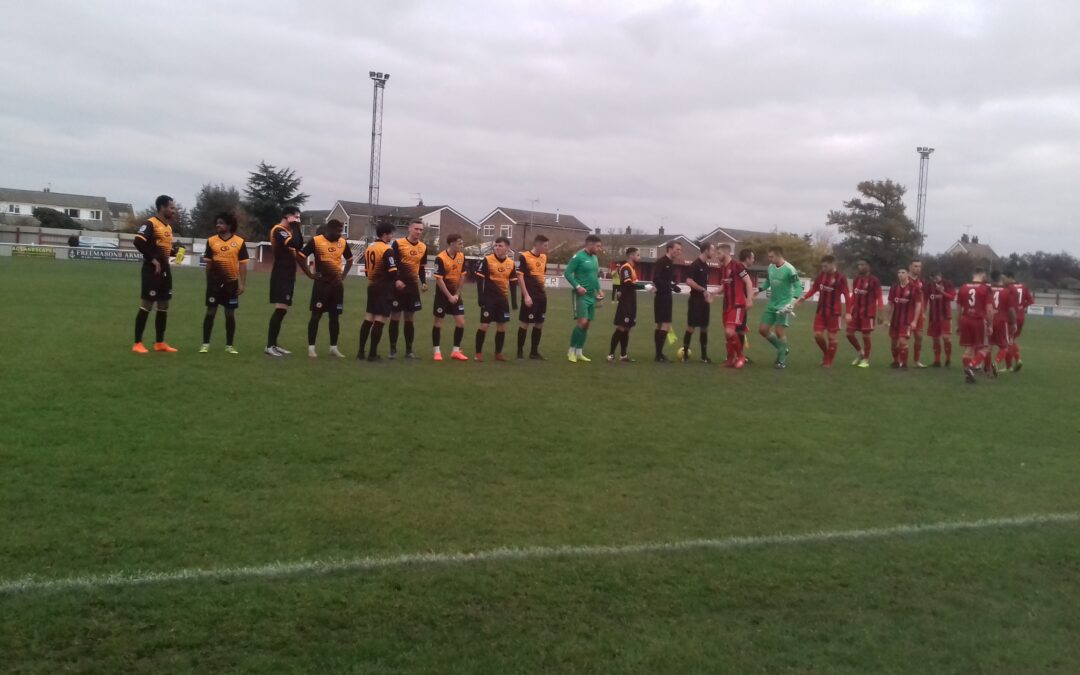 Cray Wanderers 2019-20 – That was the season that wasn't – Pictorial Review – League Match 17 – Brightlingsea Regent vs. Cray Wanderers, 16/11/19