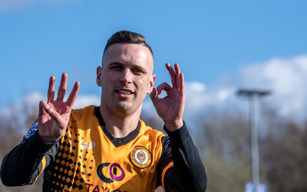Cray Wanderers News – Joe Taylor re-signs on contract for Cray Wanderers for 2020-21 season