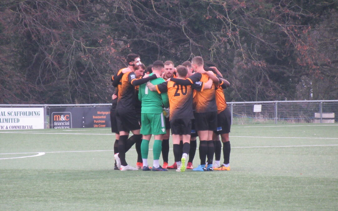 Cray Wanderers 2019-20 – That was the season that wasn't – Pictorial Review – League Match 22 – Margate vs Cray Wanderers, 1/1/20