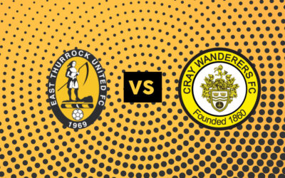 East Thurrock United v Cray Wanderers – Sat, 26th September – 3pm – Match Preview & Directions.