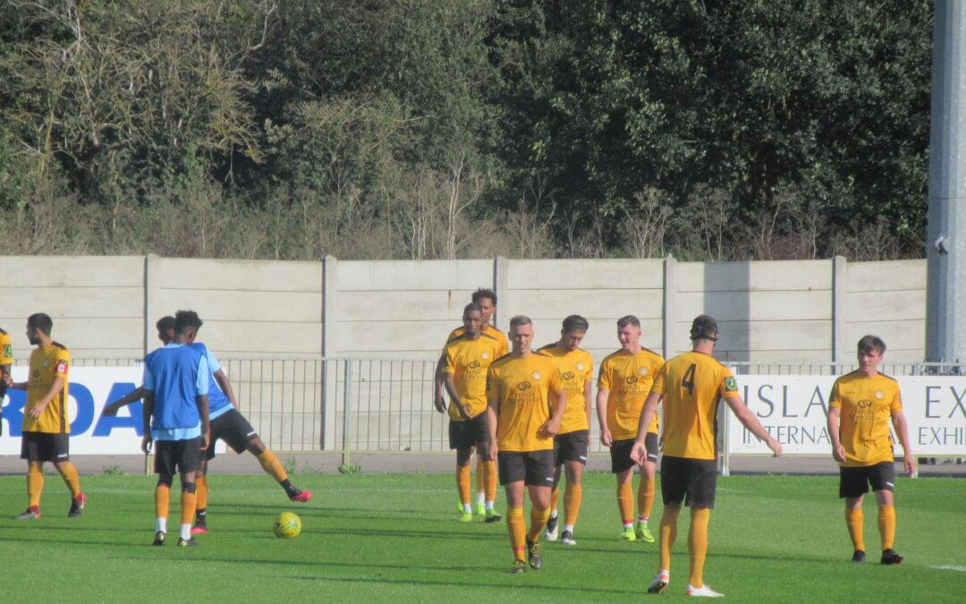 Pre-Season Friendly – Saturday 12th September, 2020 – Hayes & Yeading United 2 Cray Wanderers 2