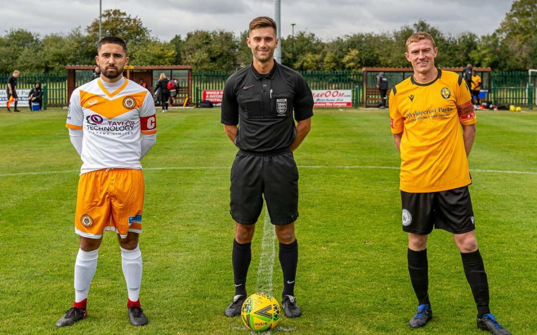 East Thurrock United 1 Cray Wanderers 3 – Pitching In Isthmian Premier, 26/9/20, Match Report