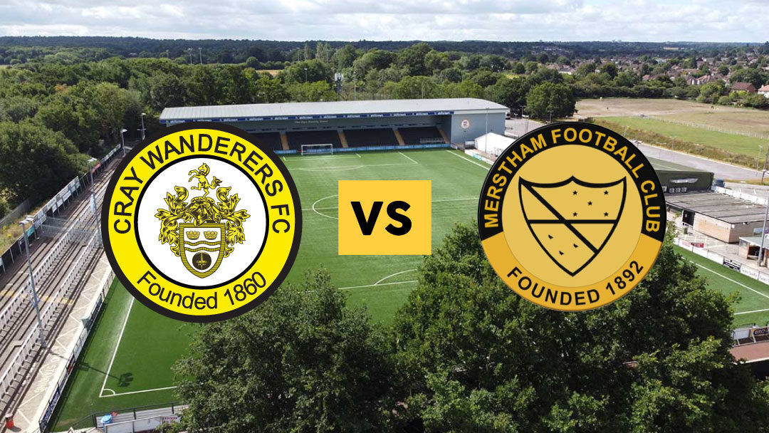 Cray Wanderers vs. Merstham – 3/10/20, Match postponed due to FA Cup 2nd Qualifying Round