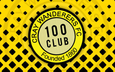 Cray Wanderers April 100 Club Draw – Saturday 1st May @ Flamingo Park from 1pm.