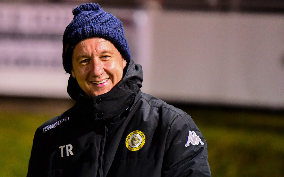 Congratulations to Tony Russell, 250 games in charge of Cray Wanderers + Special Interview after Bristol Manor Farm win.