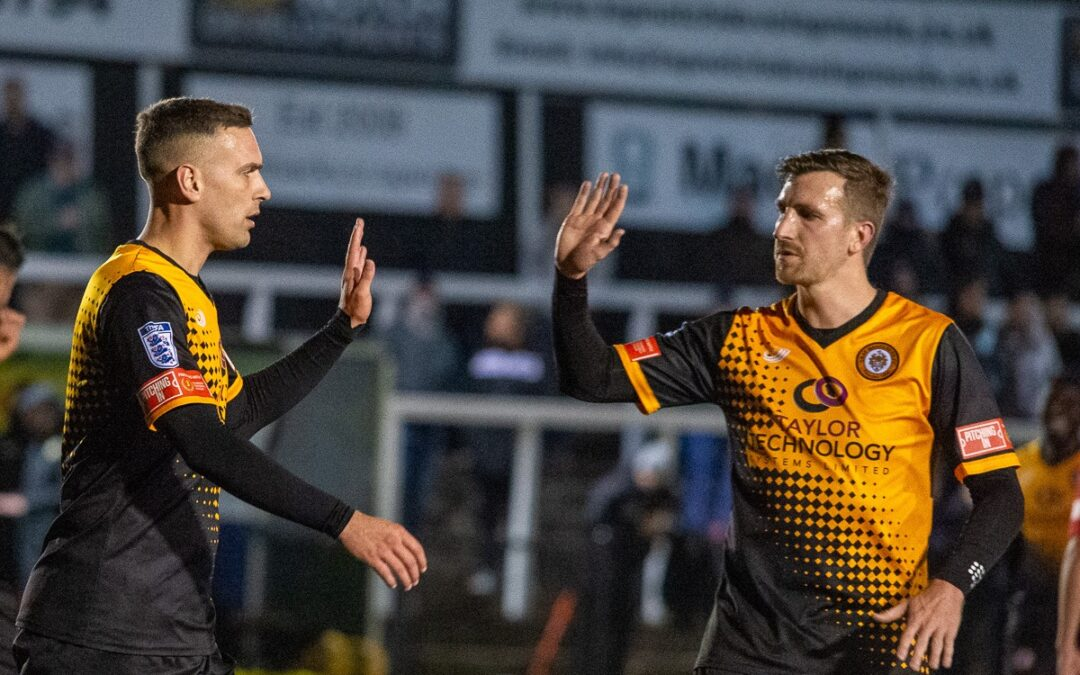 Cray Wanderers 6 Merstham 0 – Pitching In Isthmian Premier – Weds, 28th October, Match Report