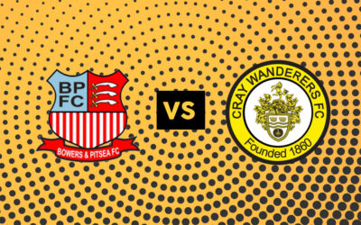 Bowers & Pitsea v Cray Wanderers – Tues, 3/11/20 – Match Postponed