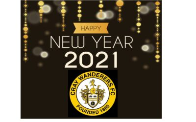 Happy New Year from all at Cray Wanderers