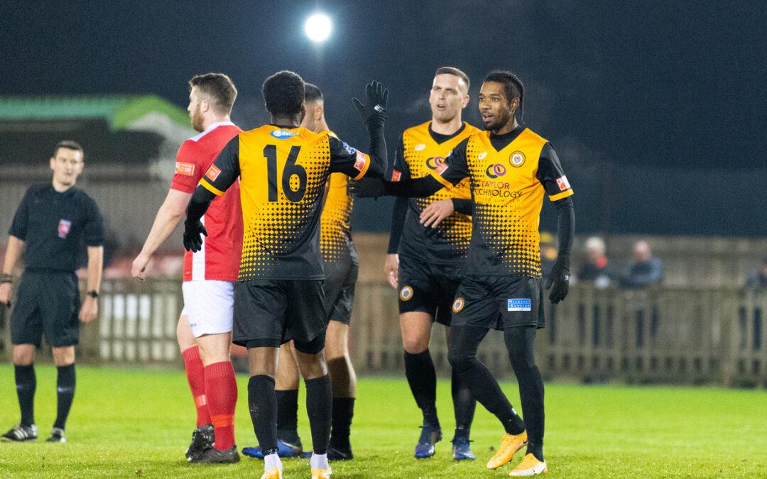 Uxbridge 1 Cray Wanderers 3 – FA Trophy 1st Round – 8/12/20 – Match Report