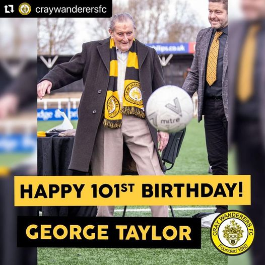 Happy 101st Birthday to George Taylor (20/1/21)