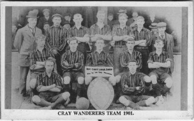 William Sampson – Cray Wanderers 1901-02 Kent League Championship Winning Medal.
