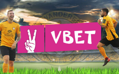 VBET Named Official Partner of Cray Wanderers FC!