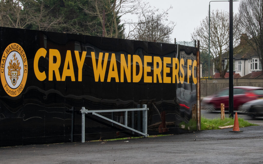 Cray Wanderers FC. Activity at Flamingo Park this weekend (1st – 2nd May)