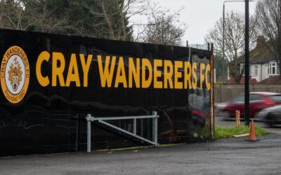 Cray Wanderers FC. Activity at Flamingo Park this weekend (1st – 2nd May)
