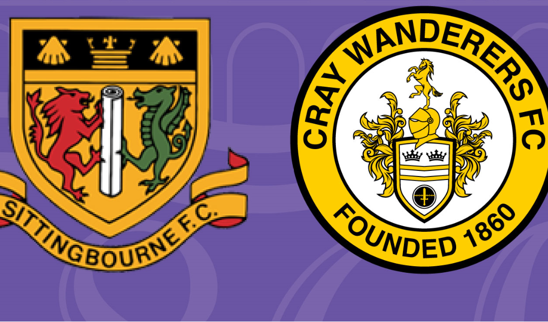 PSF: Sittingbourne v Cray Wanderers, 28/7/21 – MATCH CANCELLED