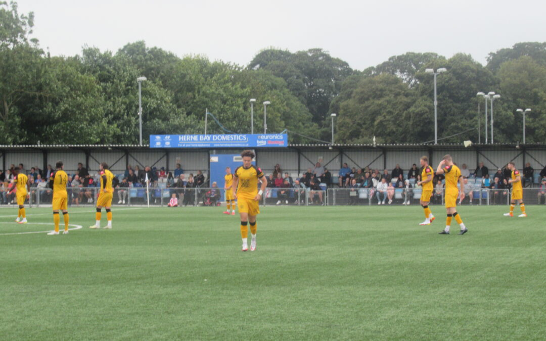 Margate 2 Cray Wanderers 1 – Isthmian Premier – Monday 30th August, Match Report