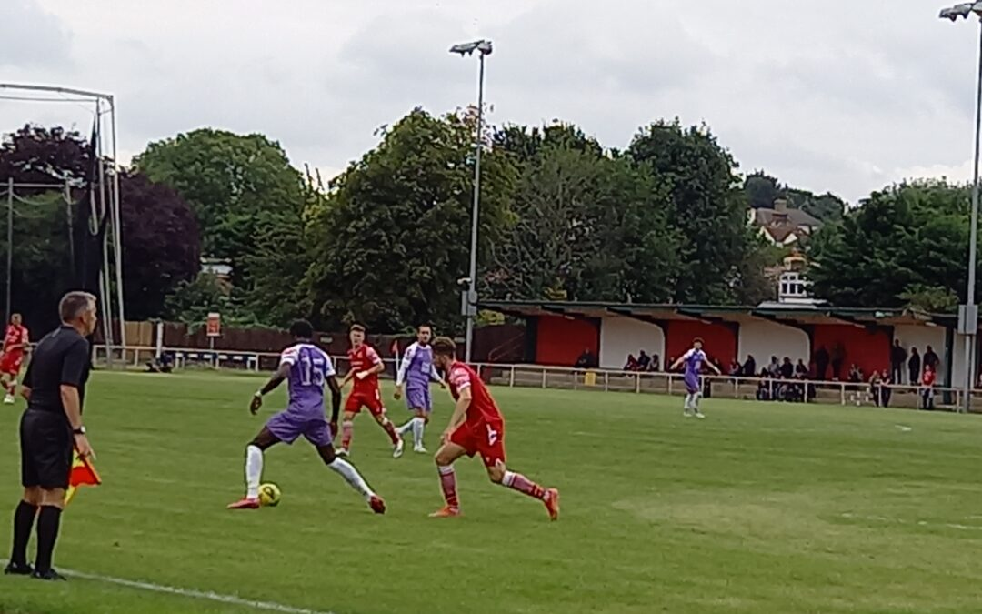 Hornchurch 1 Cray Wanderers 2 – Isthmian Premier, Sat. 21st August, 3pm