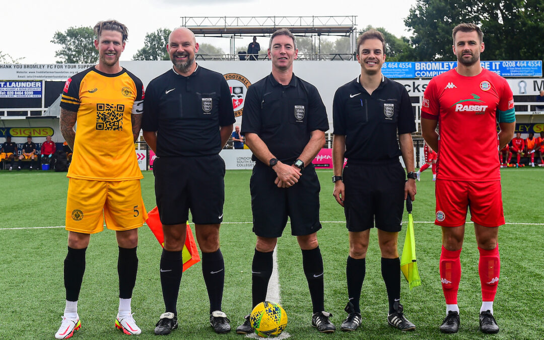 Cray Wanderers 1 Worthing 2 – Isthmian Premier – 28/8/21, Match Report