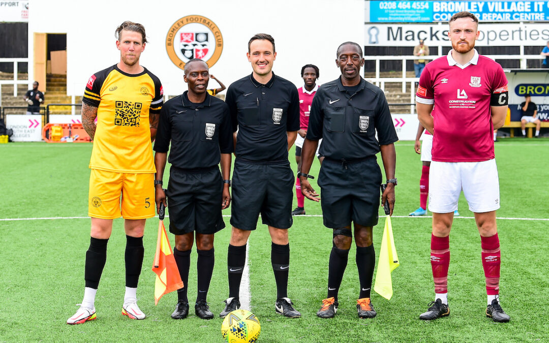 Cray Wanderers 0 Potters Bar Town 1 – Isthmian Premier, 12/9/21 – Match Report