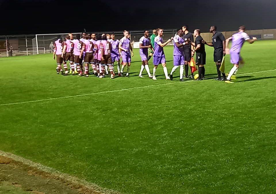 Corinthian Casuals 4 Cray Wanderers 0 – Isthmian Premier, 14/9/21, Match Report