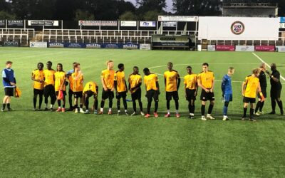 Cray Wanderers 6 Fisher 1 – FA Youth Cup Preliminary Round, 1/9/21 – Match Report (with thanks to Colin Head)