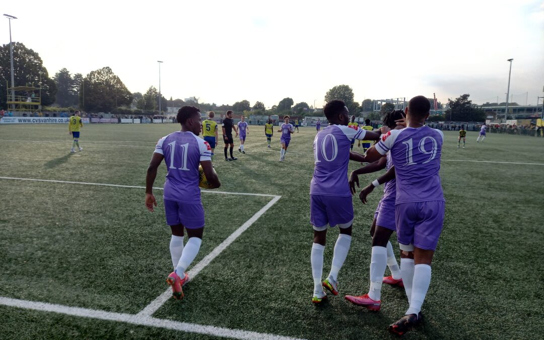 Haringey Borough 1 Cray Wanderers 1 – Isthmian Premier, Sat 9th October – Match Report